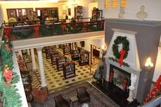 Christmas at the Piqua Public Library - Piqua, Ohio