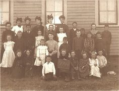 antique 1904 school photo  cute children and by vintagewarehouse, $5.00