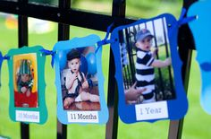 Today's party feature is an Under the Sea party for one-year-old Kiernan! For Kiernan's party, mom Jess decorated with all sorts of handmade Etsy finds, from favor buckets to cupcake toppers, water bottle labels to a specially-made time capsule. Jess ordered Kiernan's birthday banner and ...