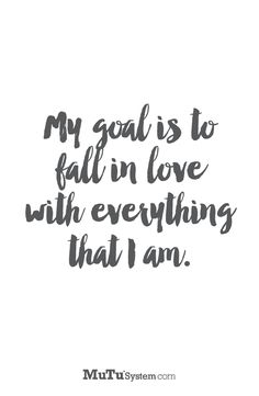 Fall in love with everything you are... MuTusystem.com