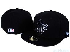 New Era Oakland Athletics MLB Caps and Hats Black