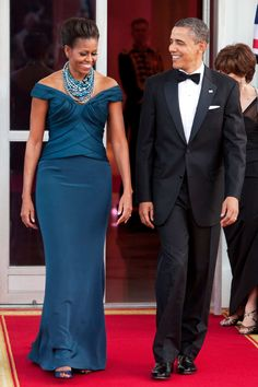 Prior to a White House state dinner, March 14, 2012