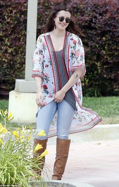 Social buttefly: Ireland Baldwin stepped out to meet with a group of friends in Malibu, Ca...