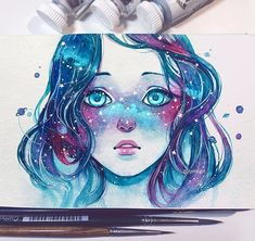"Qinni | Qing Han @qinniart ""Her face wa...Instagram photo 