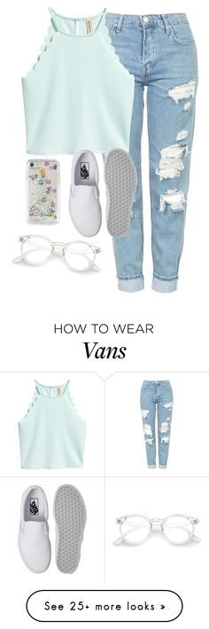 """""""Very cute, yet simple 38"""" by lollypopz951 on Polyvore featuring Topshop, Vans and Rebecca Minkoff"""