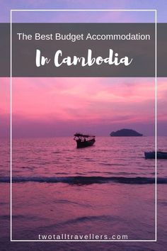 The Best Cheap Hotels In Cambodia - Two Tall Travellers Hotels In Cambodia, Cambodia Travel, Packing List For Travel, Time Travel, Best Places To Travel, Places To See, Travel Guides, Travel Tips, Travel Hacks
