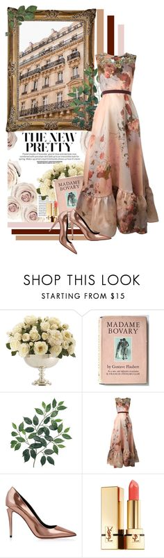 """""""Madame"""" by a-string-of-pearls ❤ liked on Polyvore featuring Ethan Allen, Antonio Marras, Alexander Wang and Yves Saint Laurent"""