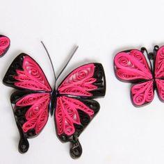 бабочка гофрированный