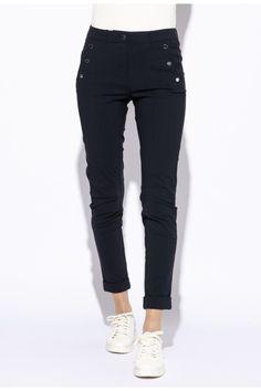 PANTALON RIVA bleu marine INDIES Pantalon Bleu Marine, Mannequin, Black Jeans, Pants, Fashion, Straight Trousers, Fall Winter, Outfit, Trouser Pants