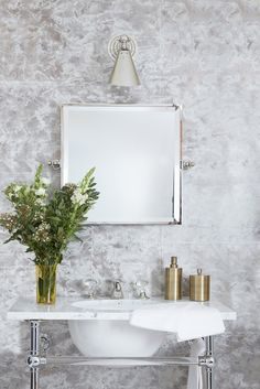 Square Mirror De Gourney Wallpaper Shoot Mother Of Pearl Antiquing On Gilded Tea Paper
