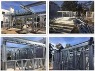 High quality ultra modern prefab homes in light gauge steel frame prefab house luxury villa Modern Prefab Homes, Prefabricated Houses, Pre Manufactured Homes, Steel Security Doors, Steel Frame House, Roofing Systems, Sound Proofing, Small Houses, Luxury Villa