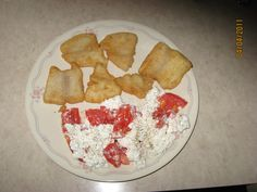 Fish-Tilapia with tomatoes and cottage cheese
