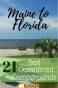 21 Best RV Campgrounds on the Beach Check out these RV oceanfront parks for RV Beach Camping! This camping on the beach travel guide features RV oceanfront and beach campgrounds! Click, Save or Send to explore the beauty of oceanfront camping Camping Must Haves, Rv Camping, Camping Hacks, Camping Am Meer, Camping Spots, Camping Checklist, Camping Life, Rv Hacks, Outdoor Camping