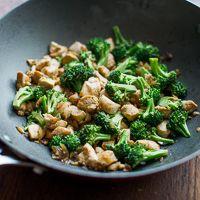 Low Fat Chicken Breast & Broccoli Stir Fry