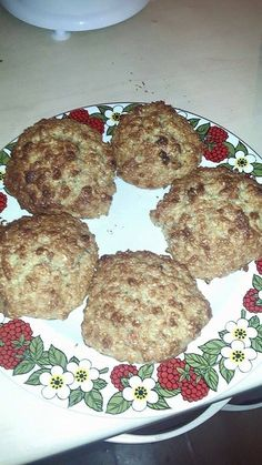 I baked Strawberry Protein and Oat cookies :) tasted better than they look.