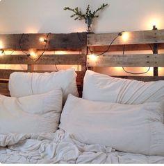 Top 62 Recycled Pallet Bed Frames – DIY Pallet Collection – Home Decoration Pallet Bedframe, Diy Pallet Bed, Diy Pallet Headboard, Pallet Bed Lights, Headboard Lights, Pallet Sofa, Home Bedroom, Bedroom Decor, Bedrooms