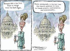 Still the Best Medicine.....Pope Fiction! Resignation Humor..7