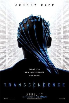 """Pictures has just released a brand new poster for their science-fiction thriller, Transcendence. The film stars Johnny Depp (""""The Lone Ranger"""") and is directed by Christoper Nolan's longtime cinematographer, Wally Pfister (""""The Dark Knight""""). Fiction Movies, Sci Fi Movies, Hd Movies, Movies Online, Science Fiction, Movie Tv, Film Johnny Depp, Johnny Depp News, Johny Depp"""