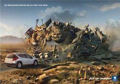Peugeot 207 SW-Outdoor: Nasty road