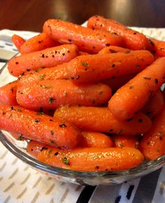 These Maple Glazed Carrots are warm and buttery with a touch of pure maple goodness!