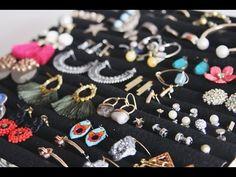 Duygu'nun DIY Günlüğü: Takı Düzenleyici Yapımı/ Kendin Yap/ DIY Jewelery Organizer - YouTube