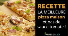 Faire votre pizza est super simple et c'est aussi une très belle façon d'initier les ados à la cuisine. Sauce Tomate, Hawaiian Pizza, Super Simple, Food, Pizza, Home Made Pizza, Shirt Hair, Tomatoes, Recipes
