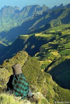 Simien Mountains National Park - Ethiopia 2006 ~ UNESCO World Heritage Site. Photo: witoldosko, via Flickr