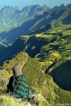 Simien Mountains National Park - Ethiopia 2006 ~ UNESCO World Heritage Site. Photo: witoldosko, via Flickr