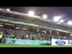 Espectacular el himno del Real Betis contra el Sporting Gijón.