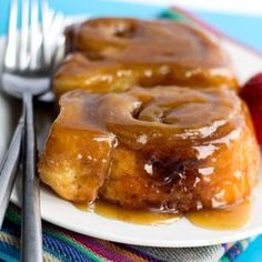 Sticky Buns is the perfect recipe - soft, gooey and and truly addictive!