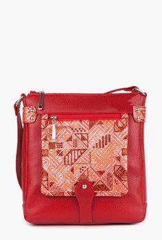 Geanta rosie cu imprimeu din piele naturala P097-R -  Ama Fashion Bags, Fashion, Handbags, Moda, Fashion Styles, Fashion Illustrations, Bag, Totes, Hand Bags