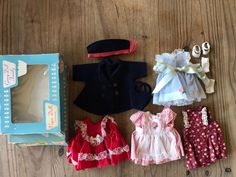 Vtg Ginny Doll Vogue Clothes 5 Outfits Ginnette Littlest Angel Dress Lot   Dolls & Bears, Dolls, By Brand, Company, Character   eBay!