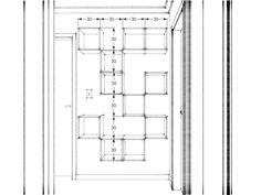 Um projeto simples de uma estante com nichos (para o nosso corredor)