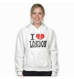 "Blusa Branca ""I Love London"" - EllaSweet Store"