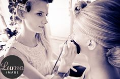 #bridesmaid #bride #make-up image by Petteri Löppönen
