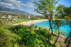 Kaanapali is a three-mile stretch of beach that has been touted as one of the best beaches on Maui, and even in America! Maui / Hawaii / Vacation / Honeymoon / Paradise