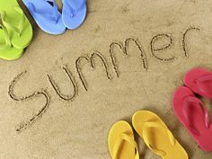 Summer... Take a picture in the sand at Hilton Head...remember!!!