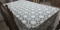 Large Tablecloths, Crochet Tablecloth, Table Toppers, Hand Crochet, Overlays, Delicate, Colours, Shapes