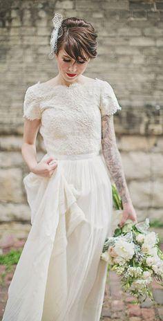 ชุดแต่งงาน วินเทจ