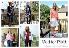 The Best of Sweet Parrish Place Style {2014} plaid #teacherstyle #realmomstyle