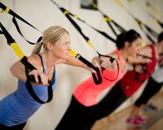 4 ejercicio de entrenamiento con TRX