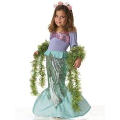 Lil' Mermaid Princess Toddler Costume by California Costume Collections. $19.99. Includes: Dress, headband.. Not Included: Boa.