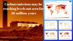 Total human carbon emissions could match those of Earth's last major greenhouse warming event in fewer than five generations, new research finds. Environmental Change, Environmental Science, Fifth Generation, University Of Utah, Associate Professor, Greenhouse Gases, Global Warming, Climate Change, Infographics