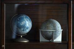 Vintage Glass Display Cabinet  Wood Book Shelf Antique by Hindsvik, $525.00