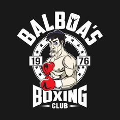 Check out this awesome #Rocky #Balboa #Boxing #Club #Gym #Shirt @ https://www.teepublic.com/t-shirt/142589-balboas-boxing-club?aff_store_referral_id=756