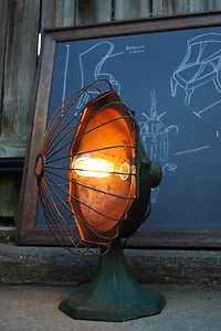 Vintage Antique Repurposed Industrial Lamp Light Machine Age Steampunk 1906