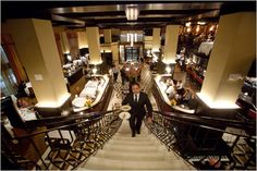 Del Posto, New York's first/only four-star Italian restaurant. Photo: Josh Haner/The New York Times