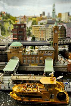 Hamburg - Landungsbrücken  Miniatur Wunderland
