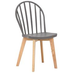 Ayda Grey Dining Chair