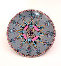 Cloud Nine Creative - Aztec Flower Plate 19cm